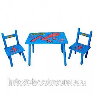Детский столик со стульчиками «Человек-паук» Bambi M0294, фото 2