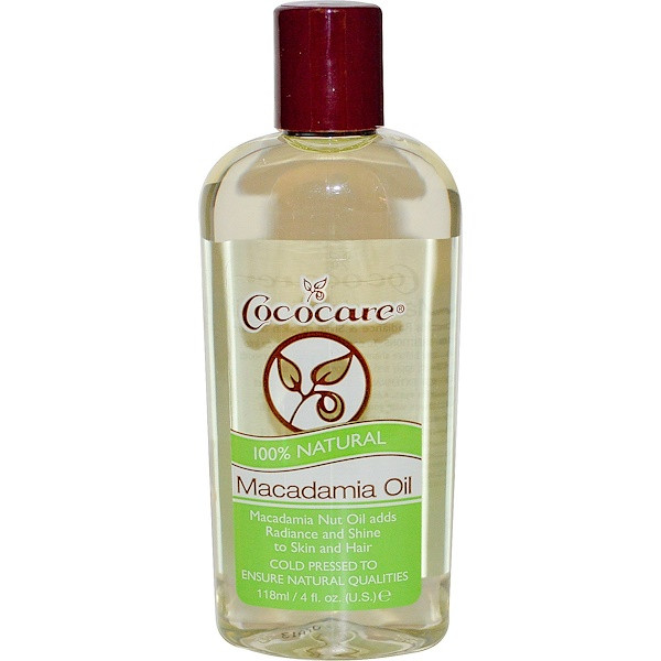 Cococare 100% масло макадамии, 118 мл