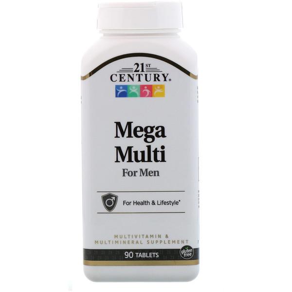 Вітамінний комплекс для чоловіків, 21st Century Health Care, 90 таб.