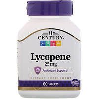 Лікопін, 21st Century Health, 25 мг, 60 таблеток