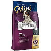 Happy Dog Supreme Mini Irland - сухой корм для собак малых пород привередливых к еде (лосось, кролик) 4 кг