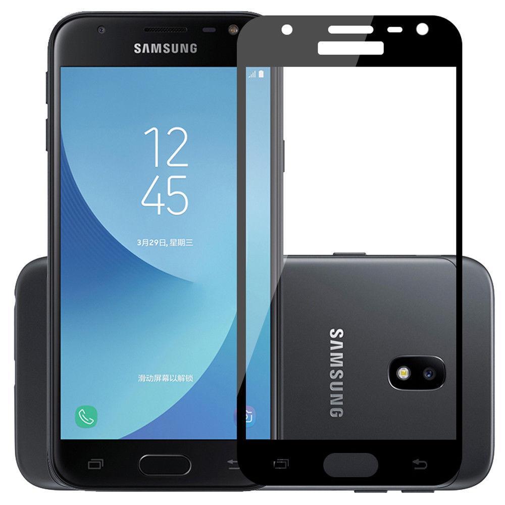 Samsung J530F Galaxy J5 (2017) Colorful Tempered Glass Black Защитное Стекло