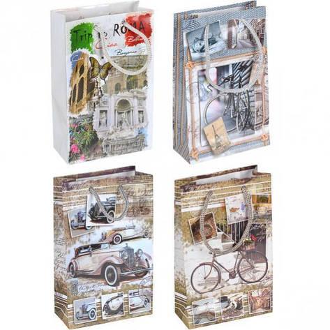 Пакет цветной малый «Мужской/женский» 11×18×5 см 1008, фото 2