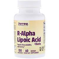 Альфа-липоевая кислота с биотином, Jarrow Formulas, 60