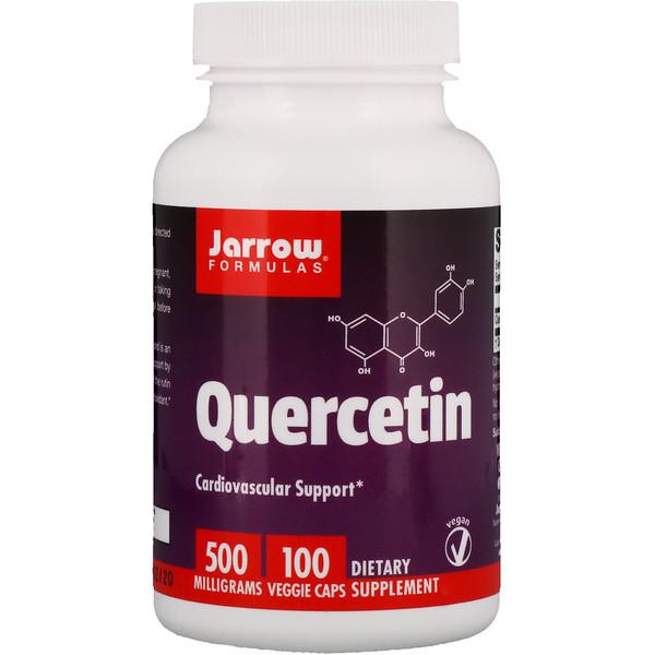 Кверцетин, Jarrow Formulas, 500 мг, 100 капсул