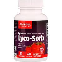 Лікопін, Jarrow Formulas, 10 мг, 60 гельових капсул