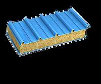 Кровельные сендвич-панели, наполнитель  минеральная вата 200 мм