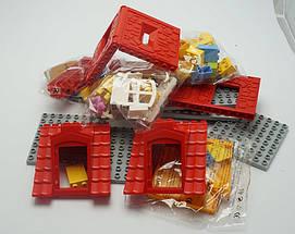 Конструктор аналог Lego Duplo дом с мебелью и качелями, фото 2