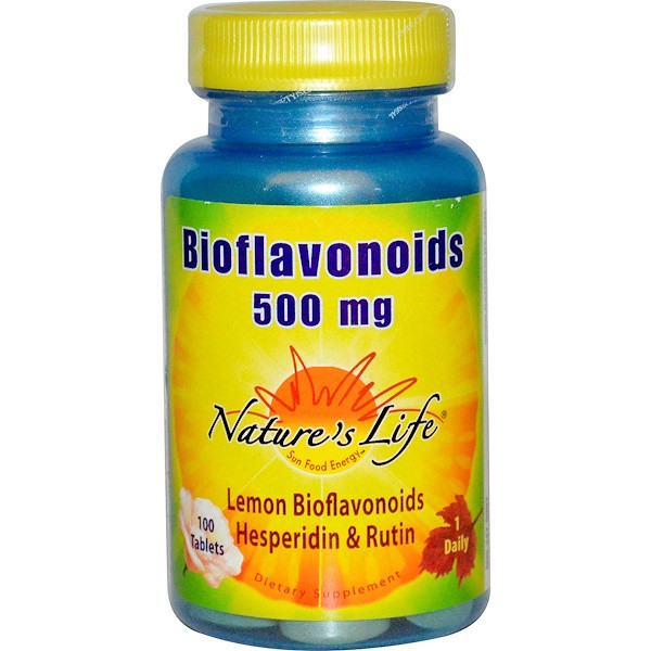 Біофлавоноїди, nature's Life, 100 таблеток
