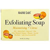 Мыло скраб отшелушивающее с маслом ши, марулы и таману, Madre Labs, 141 г