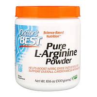 Аргинин в порошке аминокислота L-Arginine Doctor's Best, 300 грамм