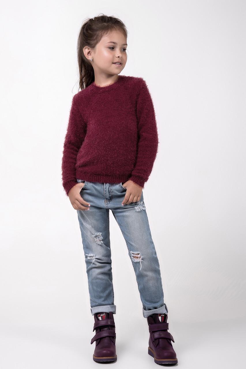 bc08b3e2fba Вязаный стильный свитер кофта джемпер для девочки   продажа