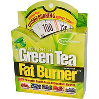 Сжигатель жира с зеленым чаем Green Tea Fat Burner, Irwin Naturals, 30  капсул