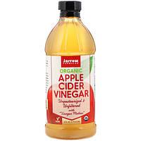 Яблочный уксус, Apple Cider Vinegar, Jarrow Formulas, органический, 473 мл
