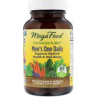 Витамины для мужчин, Mega Food, без железа, 60 таблеток