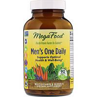 Витамины для мужчин, Mega Food, без железа, 90 таблеток
