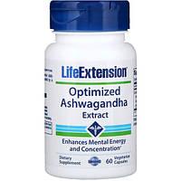 Экстракт Ашваганды, Life Extension, 60 капсул