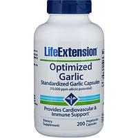 Чеснок, Life Extension, 200 капсул