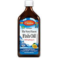 Рыбий жир, Carlson Labs, Лимон, 500 мл