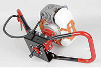 ✳️Мотобур SCHNAIDER GD520 / Скорость холостого хода 3000 об/мин(10800об/хв шнайдер бензиновий Мотобур 53см3)