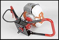 ✳️Мотобур SCHNAIDER GD520 / Гарантия 1 год(Мотобур 10800об/хв шнайдер 53см3 бензиновий)