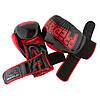 Боксерські рукавиці PowerPlay 3017 Чорні карбон 16 унцій, фото 8