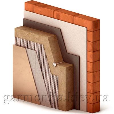 Система тонкого штукатурного фасада