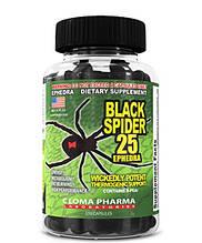 Сжигатель жира BLACK SPIDER 100 капсул