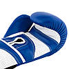 Боксерські рукавиці PowerPlay 3019 Сині 14 унцій, фото 5