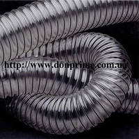 Рукав полиуретановый для аспирации 100 мм, шланг полиуретановый для аспирации 125 мм