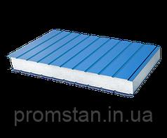 Стеновые сэндвич-панели с наполнителем из пенополистирола 100 мм