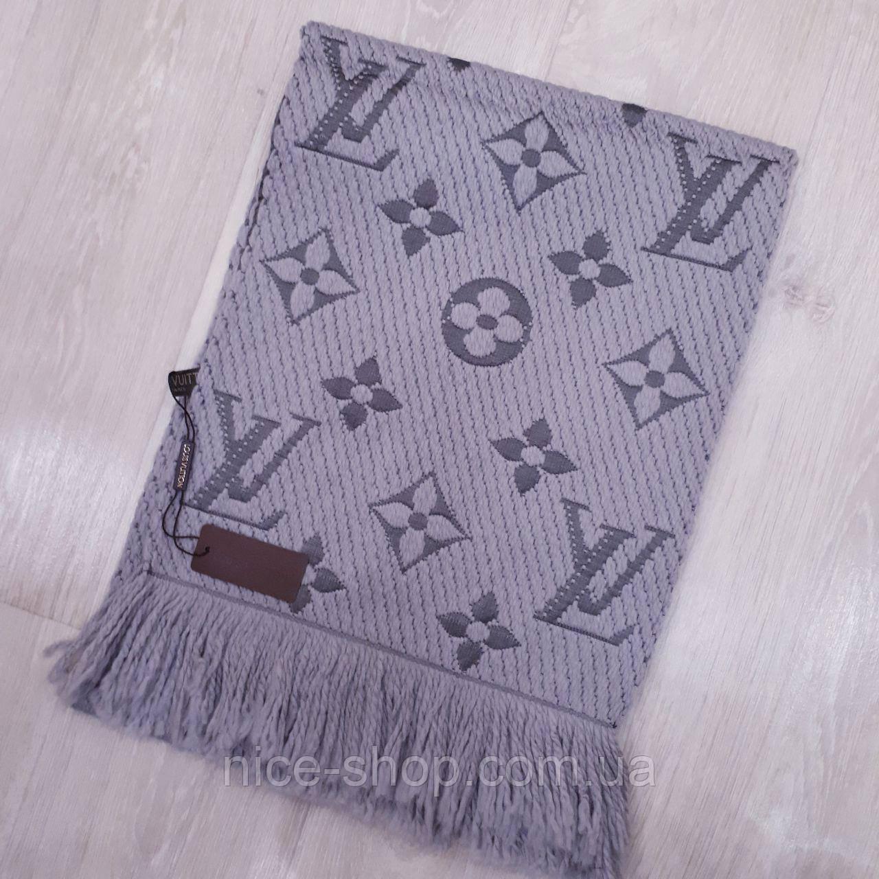 a58f8eae7acc Шарф Louis Vuitton серый  продажа, цена в Одессе. шарфы от