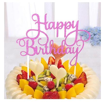 "Табличка для торта ""Happy Birthday"""