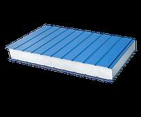 Стеновая сэндвич-панель с наполнителем из пенополистирола 120 мм