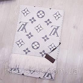 Шарф Louis Vuitton білий