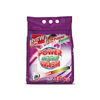 Стиральный порошок для цветного Power Wash Original Color 1,6кг