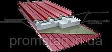 Кровельная сендвич-панель с наполнителем из пенополистирола 150 мм, фото 2