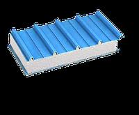 Кровельная сендвич-панель с наполнителем из пенополистирола 150 мм