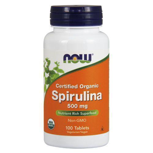 NOW_Spirulina 500 мг - 100 таб
