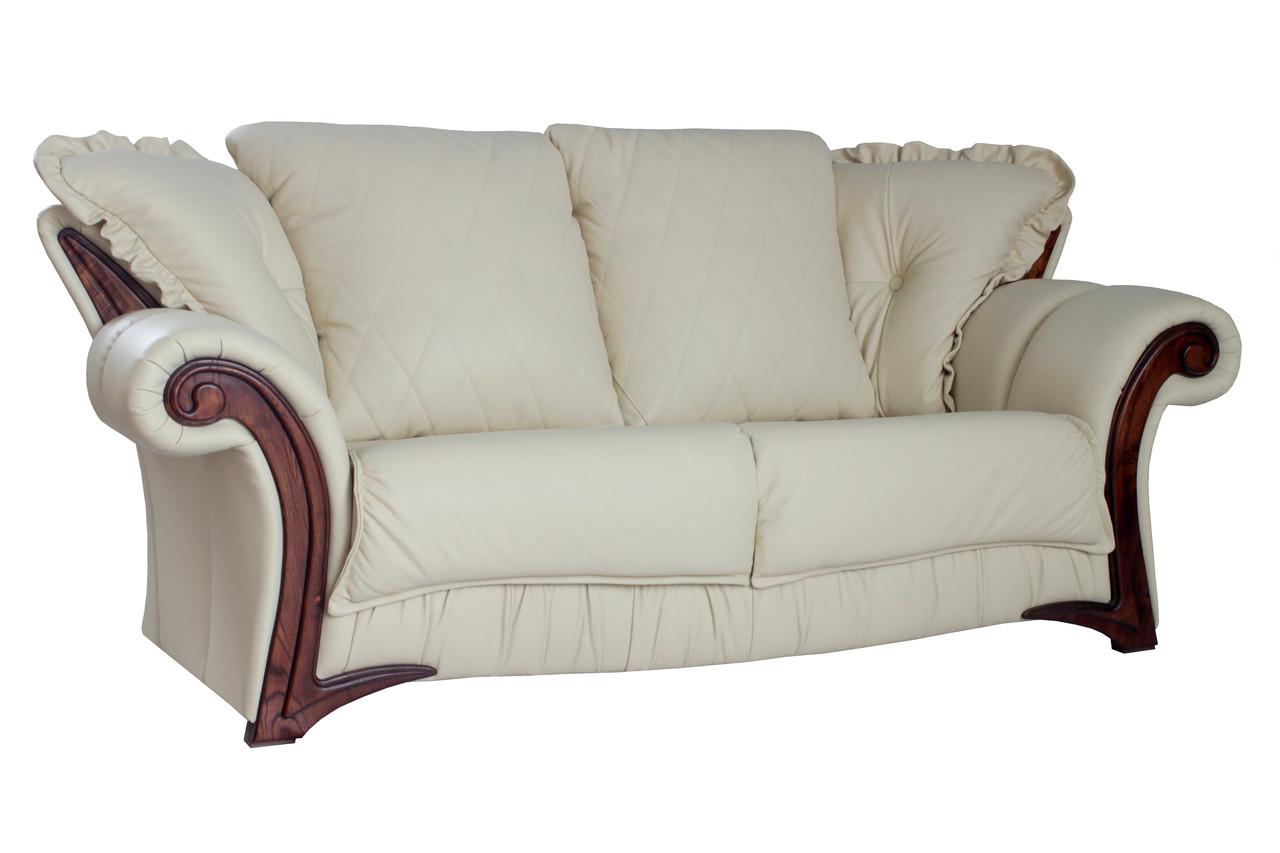 Кожаный диван Фаэро