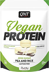 QNT_Vegan Protein 500 г - vanilla macaroon