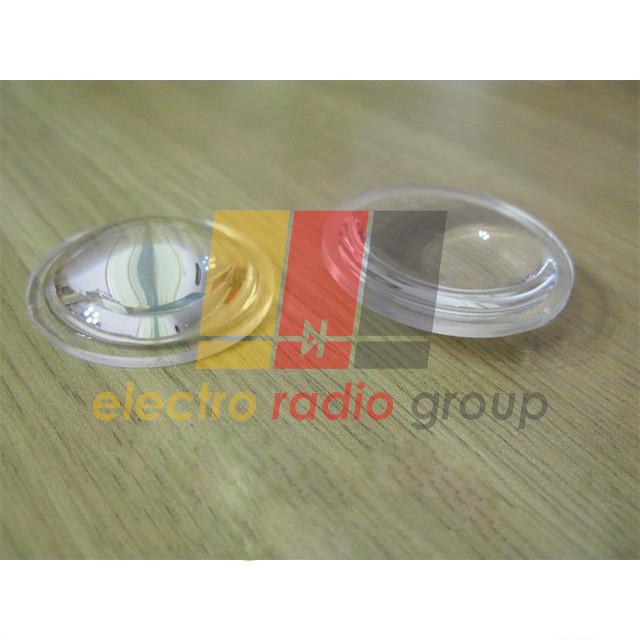 Линза для 10-100Вт светодиодной матрицы диам.38мм пластик PMMA