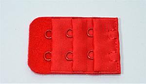 Подовжувач для бюстгальтера на 2 гачка червоний