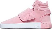 Женские кроссовки реплика  Adidas Tubular Invader Pink B39364, Адидас Тубулар