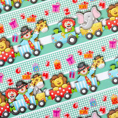 Бумага упаковочная «Детская» 100×70 см БУн70, фото 2