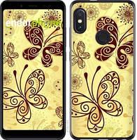 "Чехол на Xiaomi Redmi Note 5 Красивые бабочки ""4170u-1516-2911"""