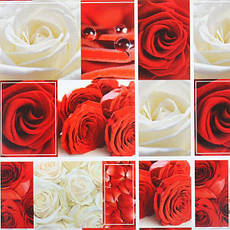 Бумага упаковочная «Цветы» 100×70 см БУн70, фото 2
