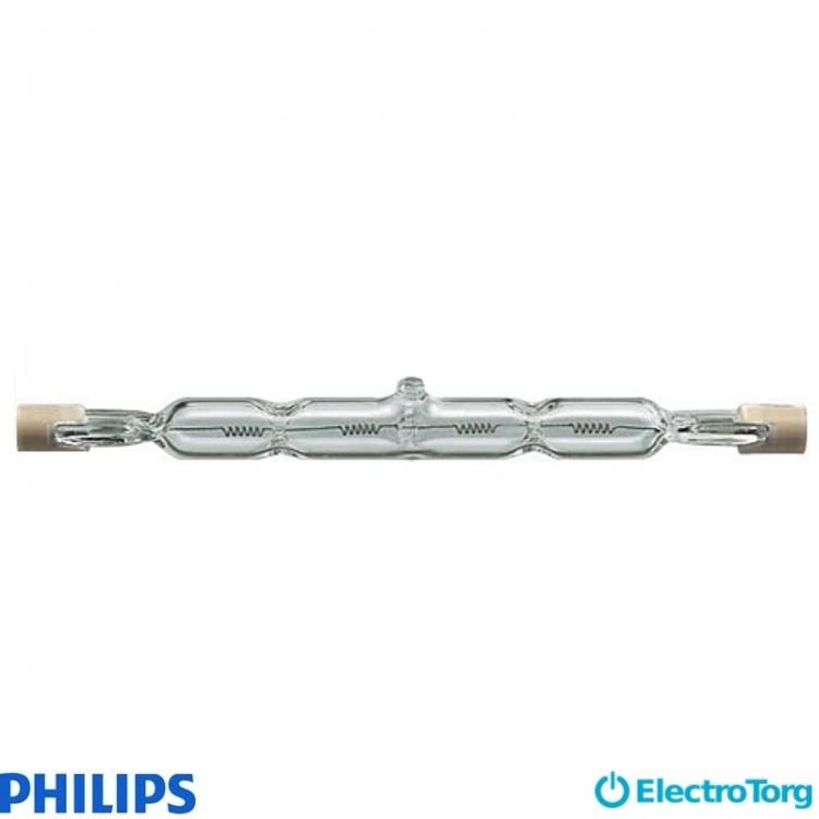 Лампа галогеновая Plusline ES 118mm 2y 400W R7s 230V 1BB Philips