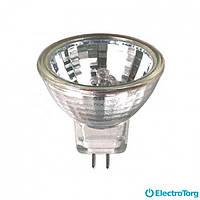 Лампа галогеновая MR16 35 Вт Delux