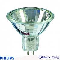 Лампа галогеновая Hal-Dich 2y 50W GU5.3 12V 36D 1CT/10X5F Philips